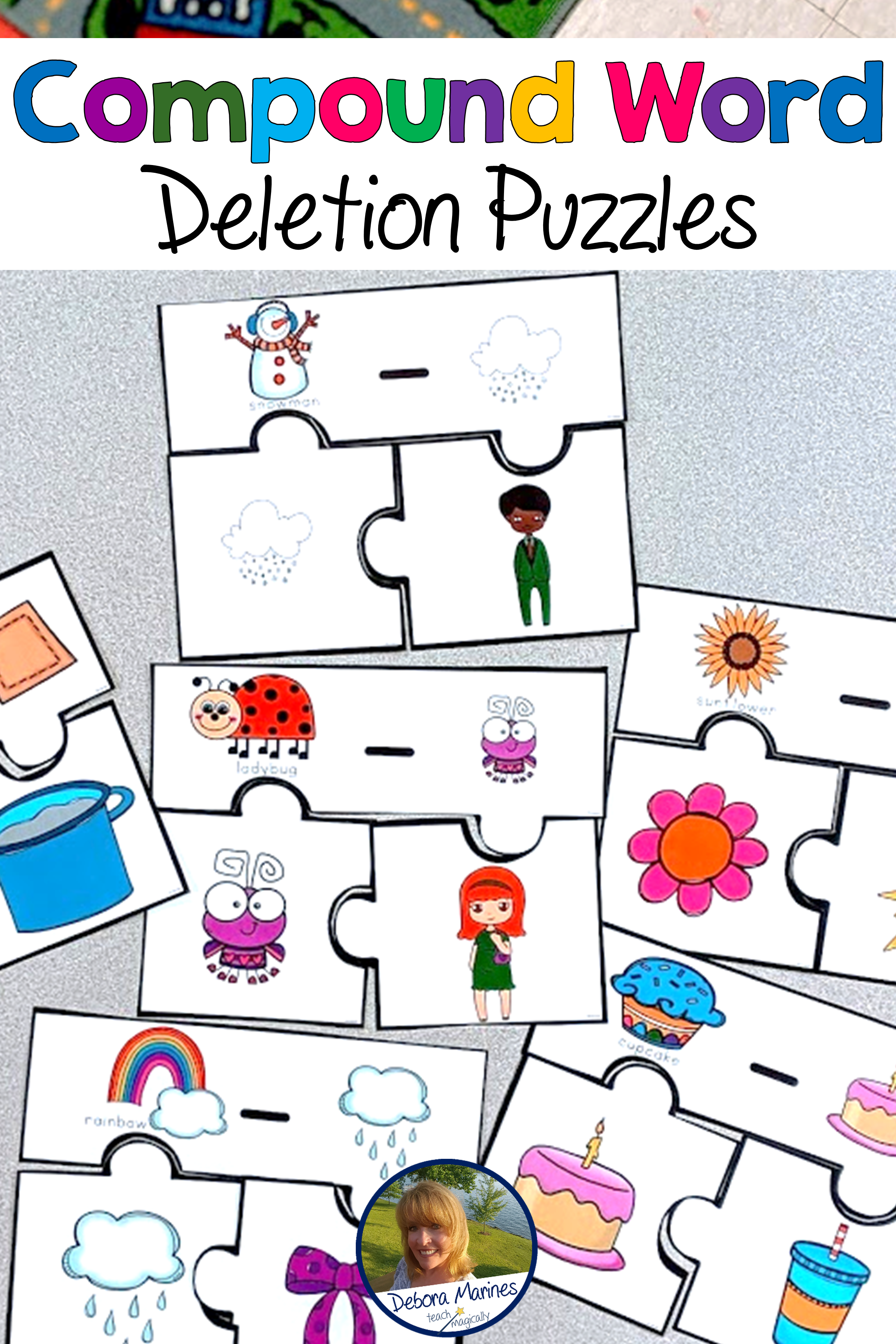 Phonological Awareness Compound Word Deletion Puzzles In 2020