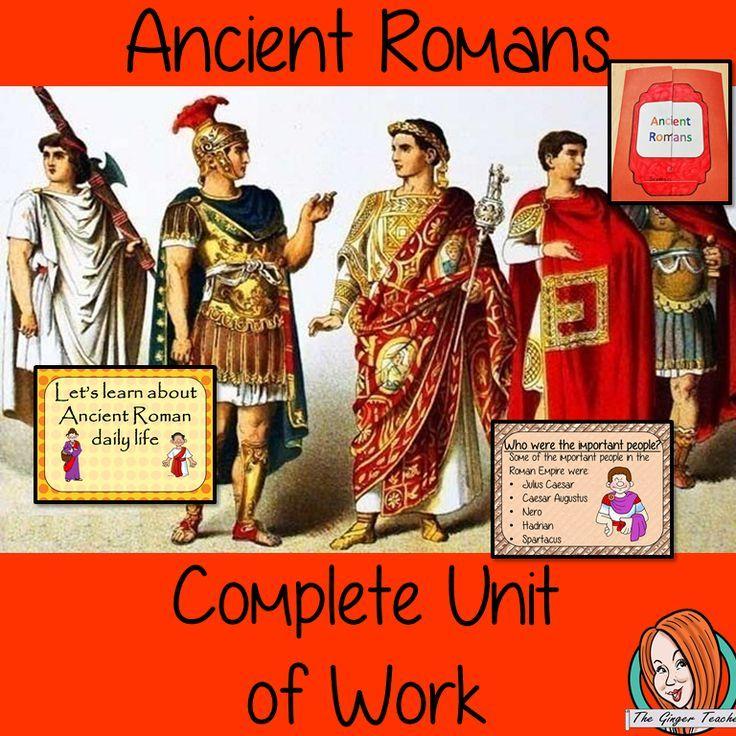 Ancient Roman Complete Unit Lesson Bundle in 2020 ...