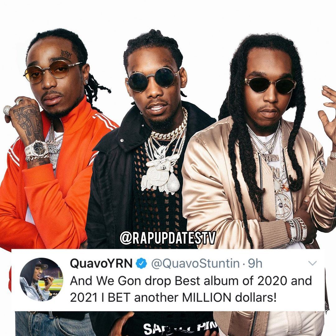 "Best Underground Rappers 2021 HipHop/Rap/R&B/Underground on Instagram: ""#Quavo says the #Migos"