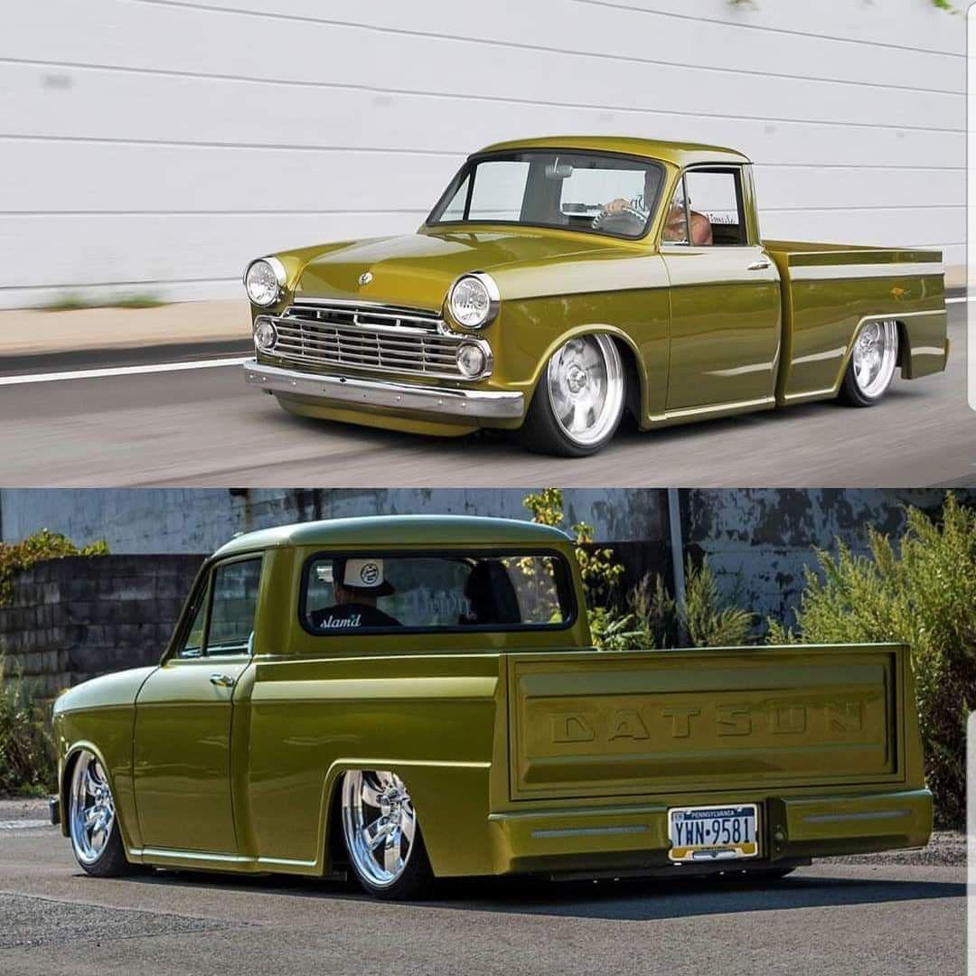 Custom Classic Datsun Mini Truck With Images Datsun Pickup