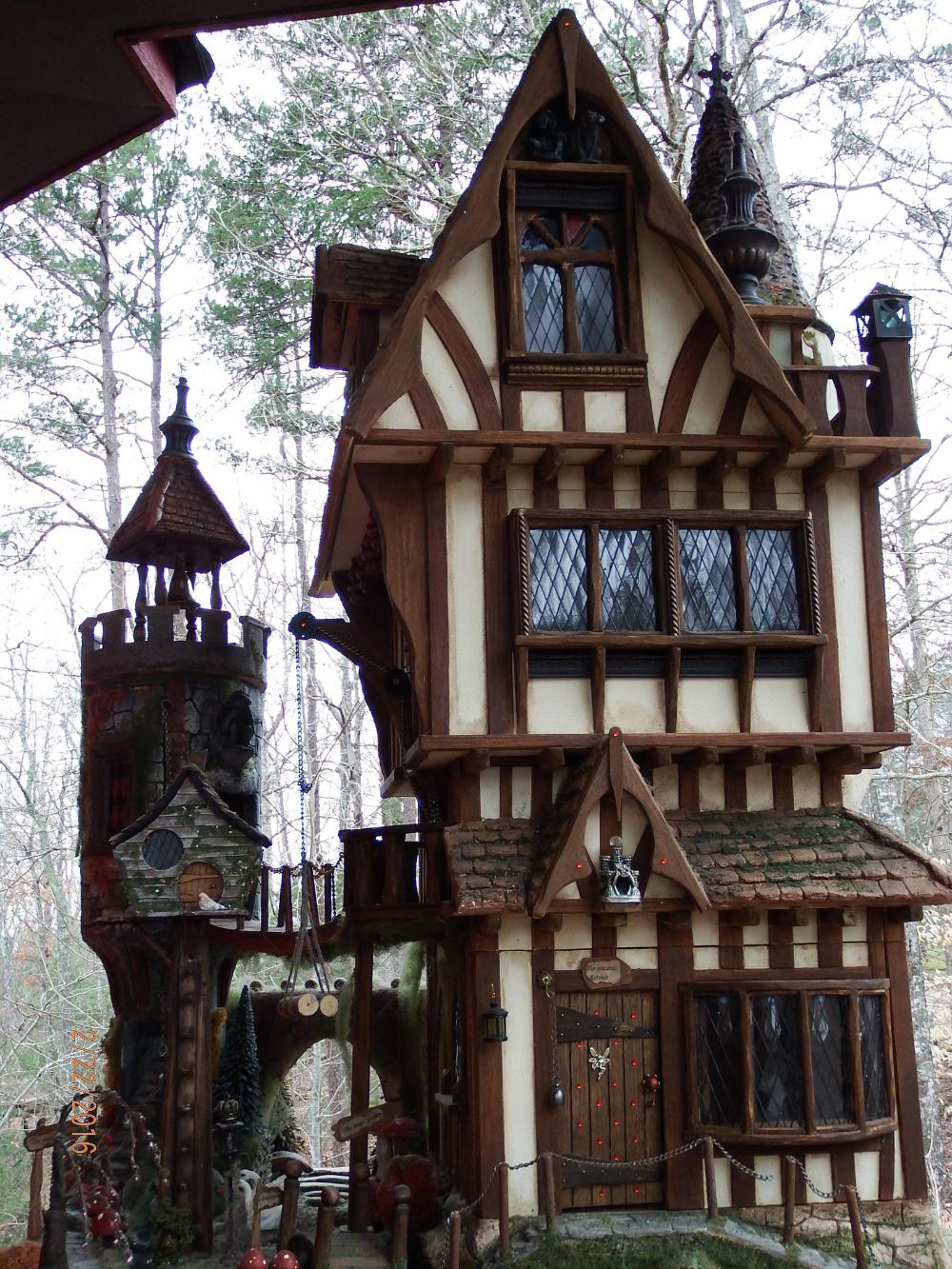 12th scale tudor fantasy dolls house 3 dvd project