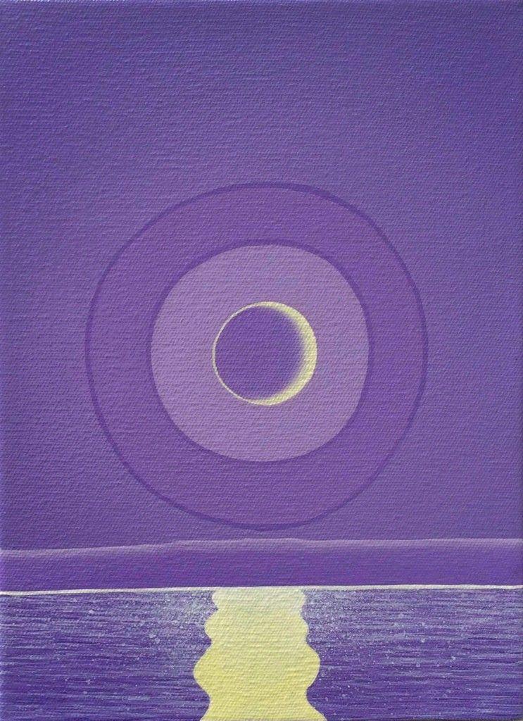 The Season's End Matthew F Fisher acrylic on canvas 2013