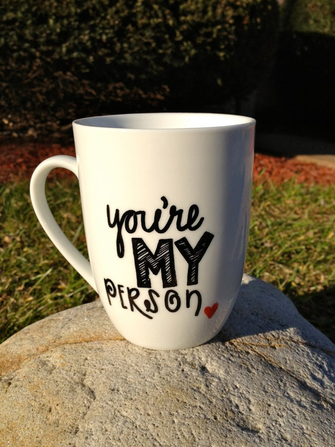 You\'re My Person. Grey\'s Anatomy Inspired Mug. by TheHomemadeHipster ...