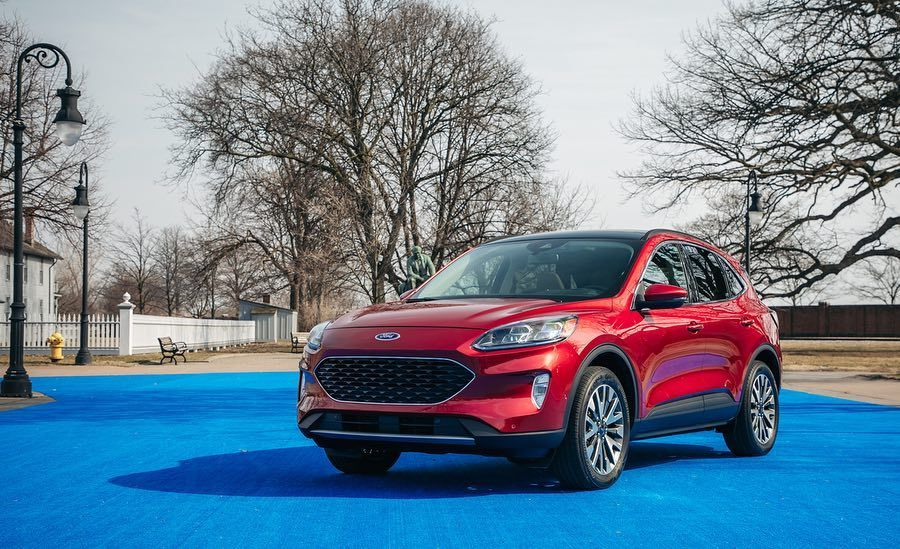 Car And Driver On Instagram The 2020 Ford Escape Remains A Compact Crossover As Before But The Sleek New Fourth G Ford Escape Car And Driver Chevy Corvette