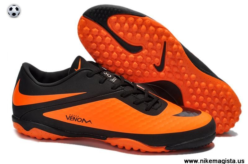 Nike Hypervenom Phelon TF (Black/Citrus) 2014 Boots