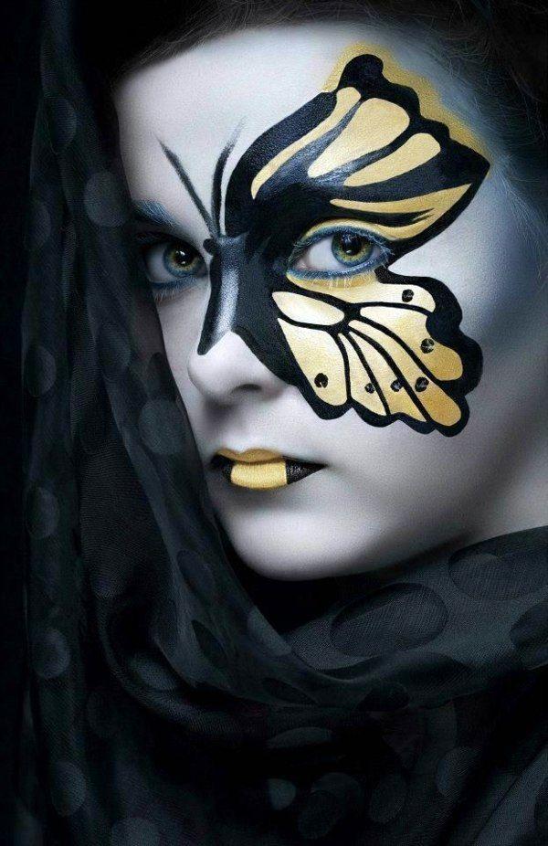Amazing 25 Cool Halloween Makeup Ideas Halloween makeup, Makeup - cool halloween ideas