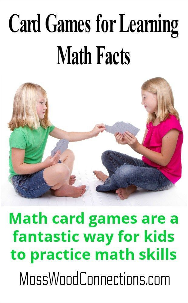 10+ Card Games for Learning Math Facts | Math card games, Math facts ...