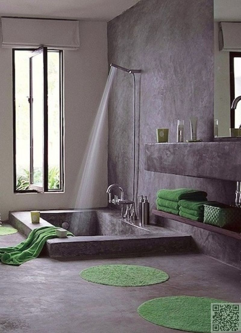 13. #Step-down-into Tub - 30 Incredible Bath Tubs You Need to See to ...