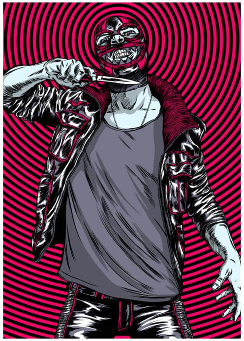 punk lucha libre | Illustration, Balance art, Illustration art