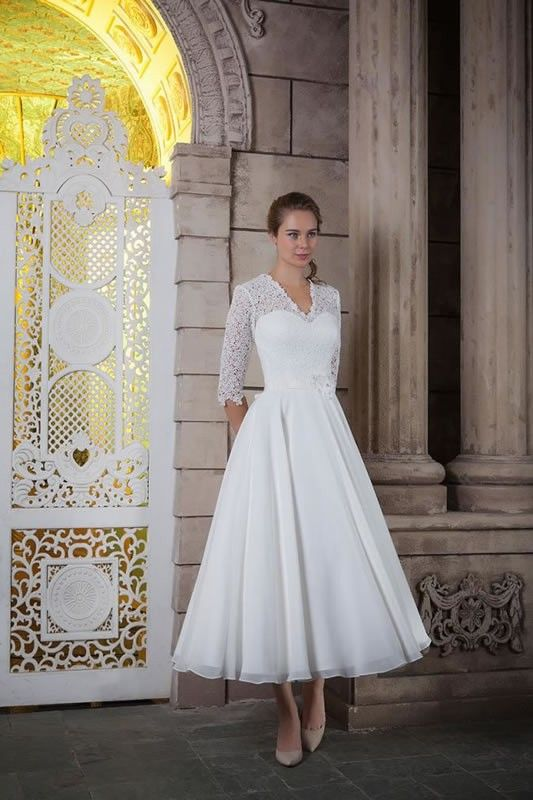 White Rose Wedding Dress R962