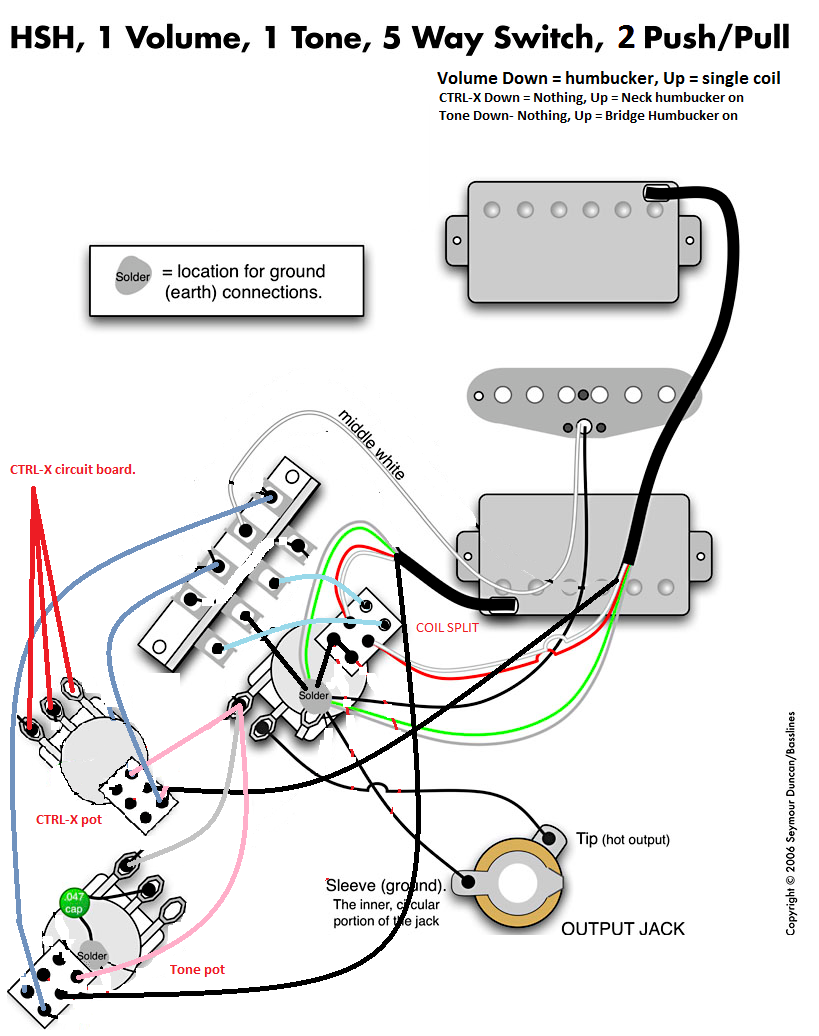 Hot Rails Wiring Diagram On Seymour Duncan Hot Rails Wiring Diagram