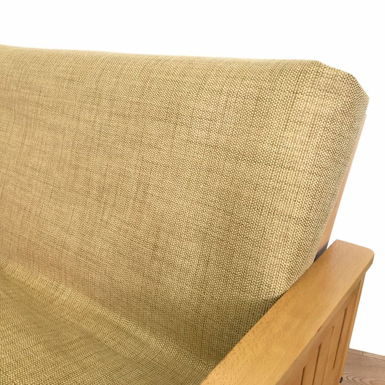 Fancy Burlap Futon Cover