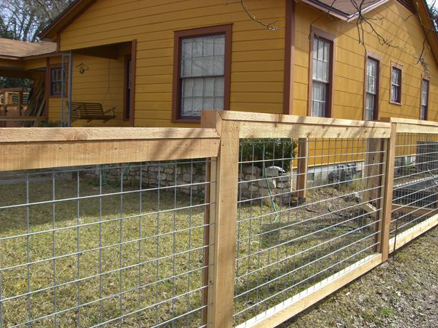 Fence Company Austin Bull Panel Fencing We saw houses w this