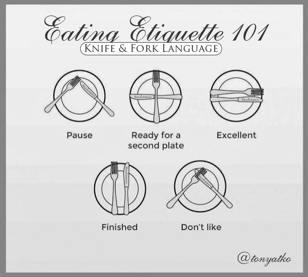 Dining Etiquette Before The Meal Long You Enter Restaurant Make Sure Turn