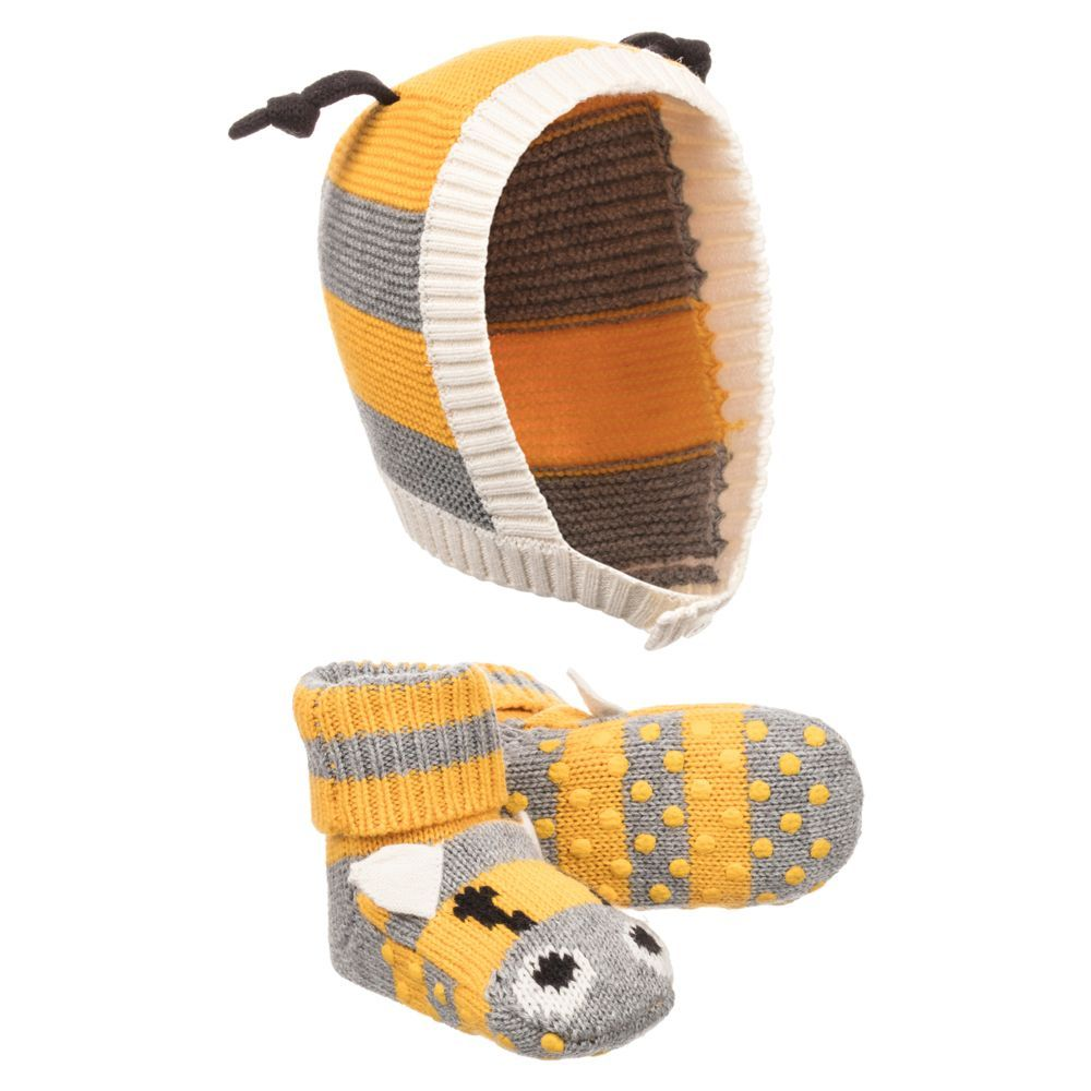 e9b6c546dcf52 Stella McCartney Kids FLOPSY Baby Hat   Booties Set. Shop from an exclusive  selection of designer Hats
