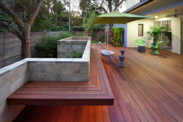 Terrasse En Bois Ou Composite Idées Merveilleuses Pour L