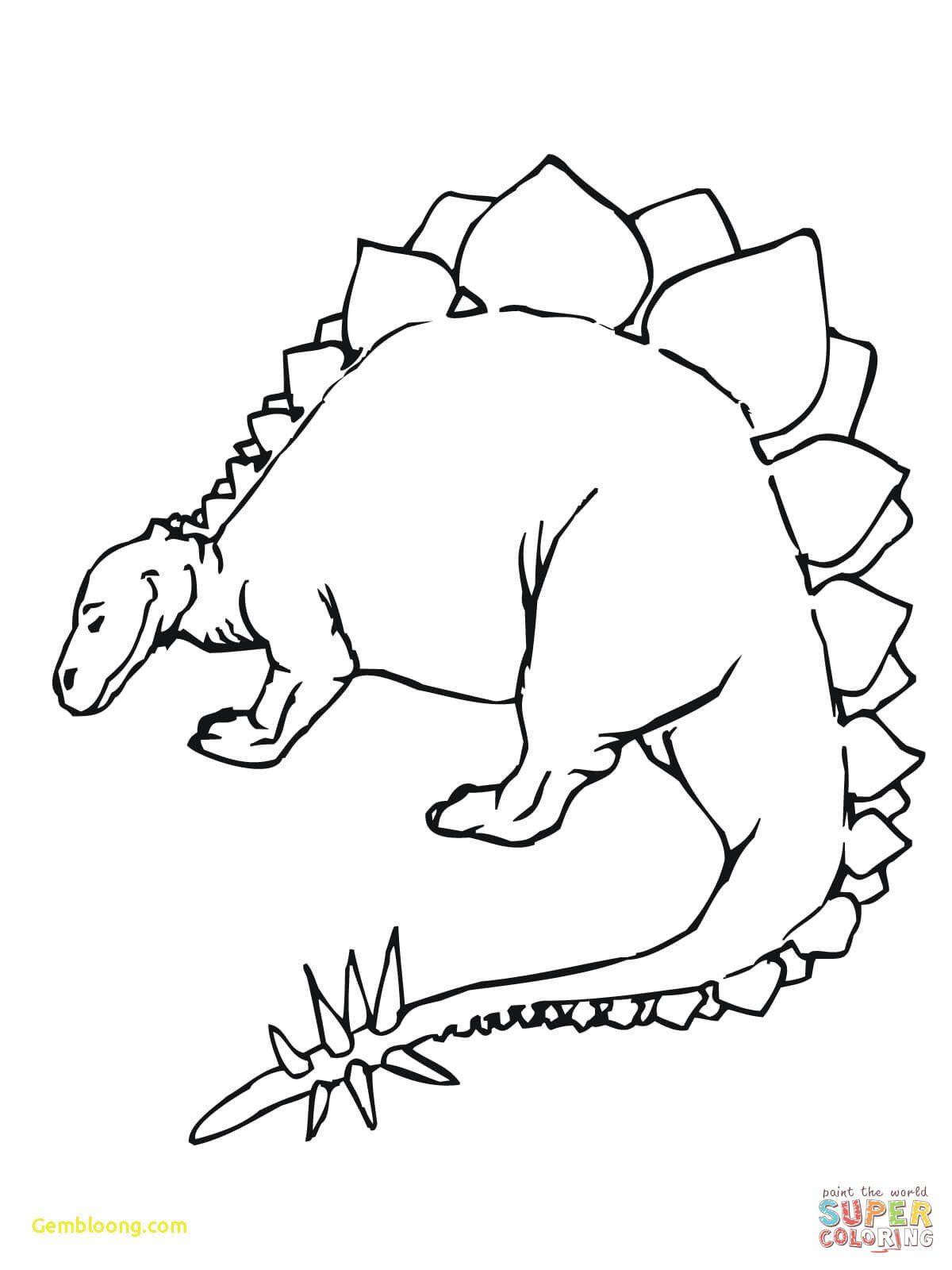Dinosaur Coloring Book Printable Coloring Pages Dinosaur Template Printable Awesome Dieren Kleurplaten Dinosaurus Kleurplaten