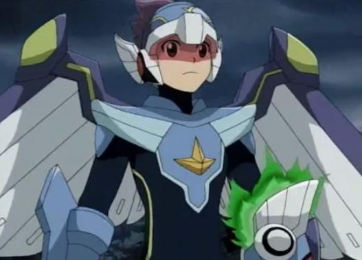 Ice Pegasus Megaman Geo Stellar From Megaman Starforce Mega Man Robot Art Anime