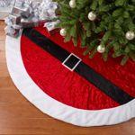 "66"" Decorative Santa Belt Tree Skirt"