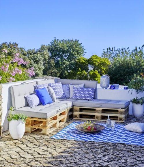Coussins pour salon de jardin en palette, en vente chez ...