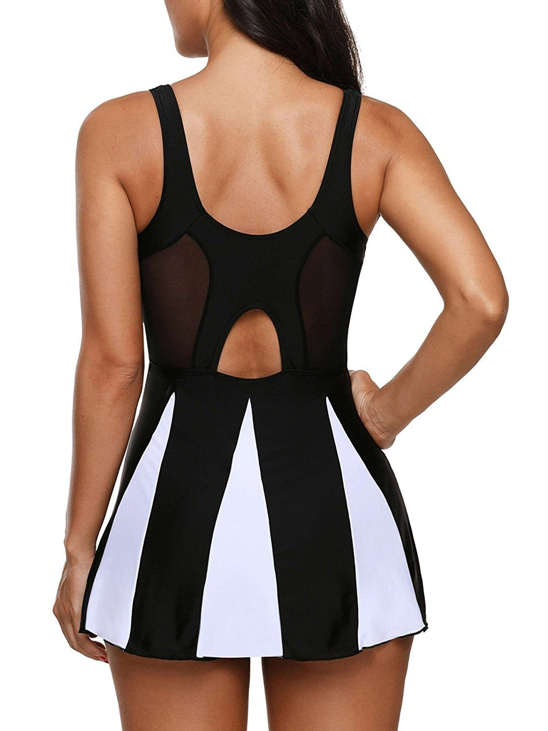 d4ca439d75497 Women One Piece Swimdress Tummy Control Slimming Skirt Bathing Suit Dress  *** For more information, visit image link. (Note:Amazon affiliate link)