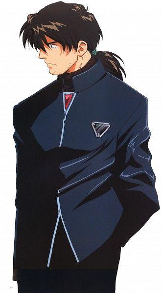 Ryoji Kaji, Honda Takeshi, Neon Genesis Evangelion   Neon ...