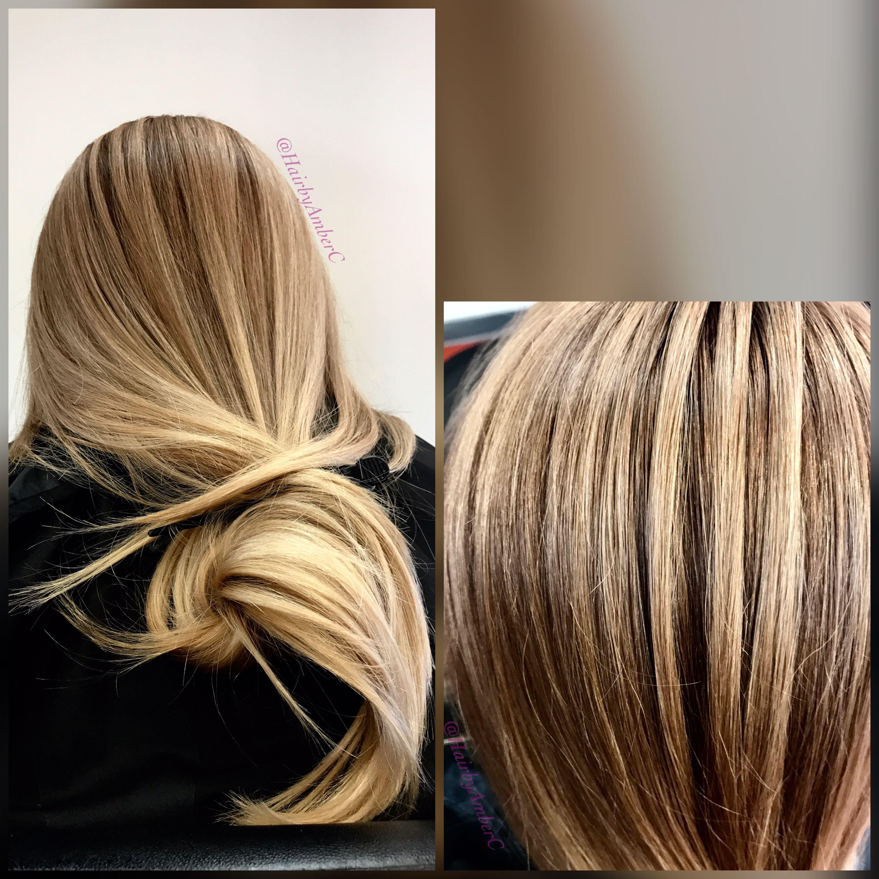 hairbyamberc Color melt on virgin hair 😍 Gorgeous