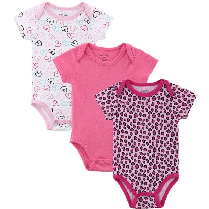 b26778ca7 Baby Girl Boy Clothes Cute Bodysuits Cartoon Cotton Baby Wear Heart ...