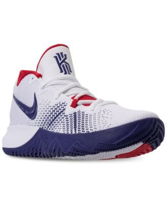 306bd4cf501 Nike Men s Kyrie Flytrap Basketball Sneakers from Finish Line - White 10.5