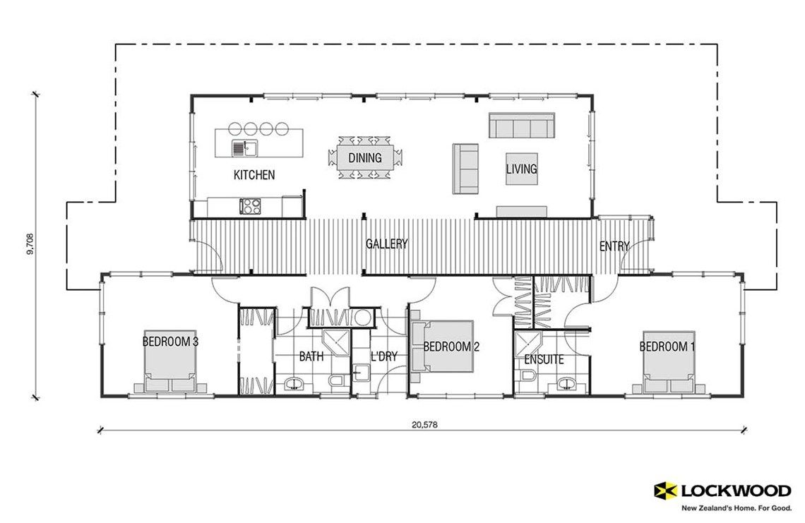Pavilion house plans new zealand house designs nz for New house blueprints