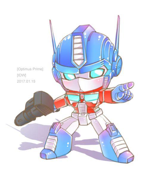 Chibi Optimus Prime  So dang cute! XD | Transformers Art