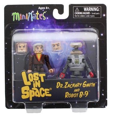mini mates lost in space dr zachary smith and robot B-9