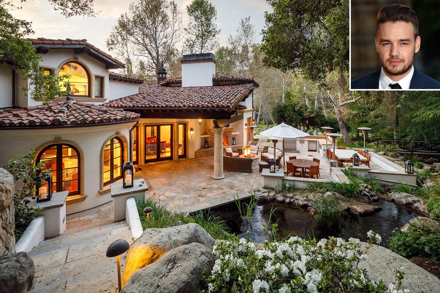 Kelly Clarkson Relists L A Home For 9 Million In Aftermath Of Divorce Drama See Photos Calabasas Homes Mansions Calabasas