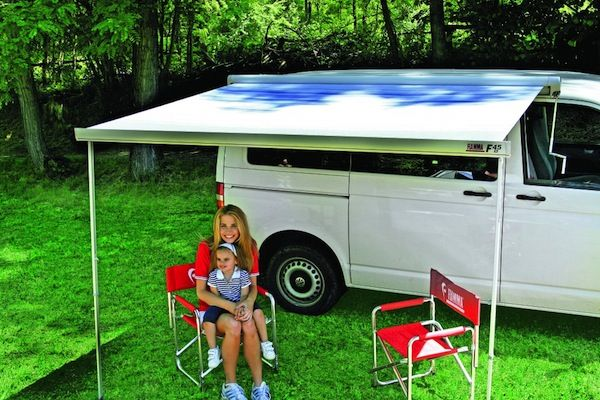 Fiamma Awning F45 Is Fiamma Awnings Most Popular Wind Out Van Awning For Rv Campers Caravan Awnings A Fiamma Store Best Selle Vw T5 Caravan Awnings Caravan