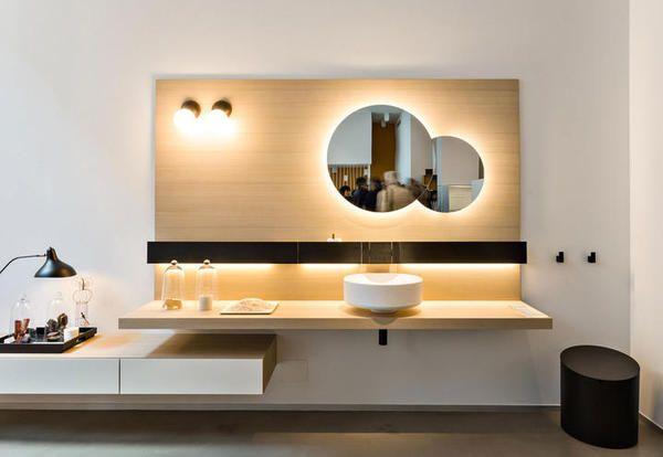 Mobili bagno moderni sospesi o a terra ecco le tendenze - Mobili bagno a terra moderni ...