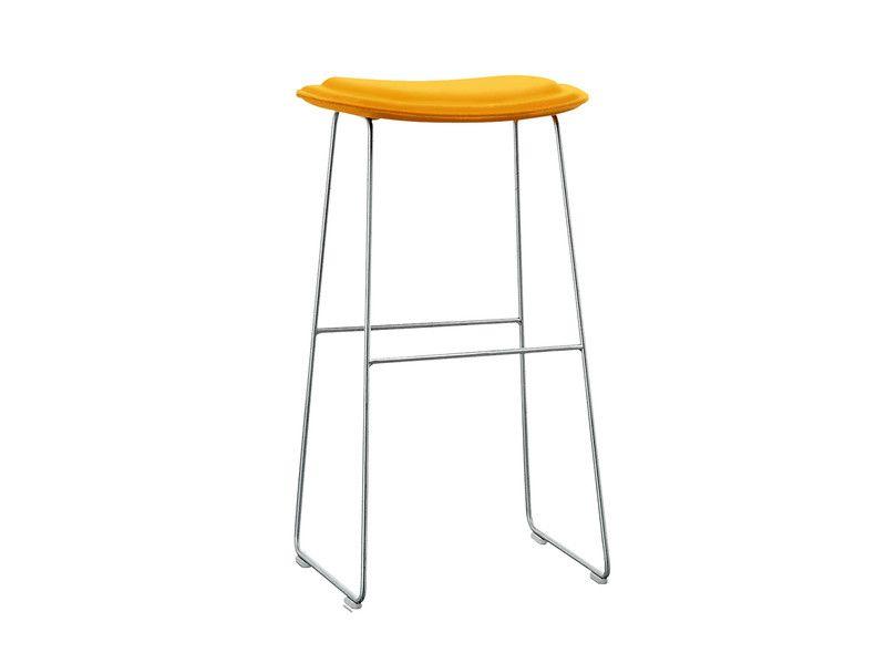 Fine Cappellini Hi Pad Bar Stool Living Room Bar Stools Squirreltailoven Fun Painted Chair Ideas Images Squirreltailovenorg