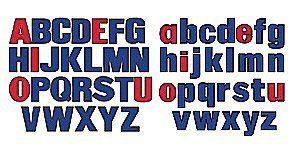 Little Folk Visuals Upper /& Lower Case Alphabet Felt Letters