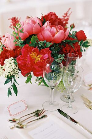Red centrepiece flowers brides of adelaide magazine red and blush red centrepiece flowers brides of adelaide magazine red and blush wedding junglespirit Images