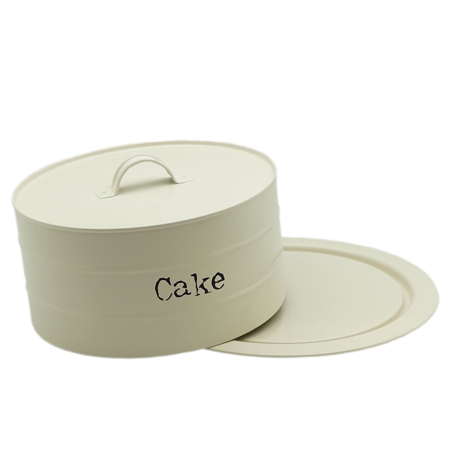 13 99 Big Discount Metal Airtight Cake Storage Tin Cake Dome 270x115mm Cream Discount Gift Amazon Baby Girl Boy Child Fashion Holiday Clothing