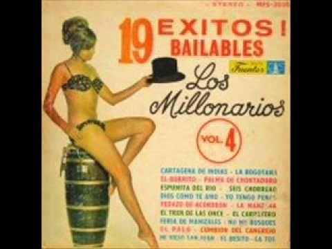 Los Millonarios 12 Grandes Exitos Disco Completo - YouTube