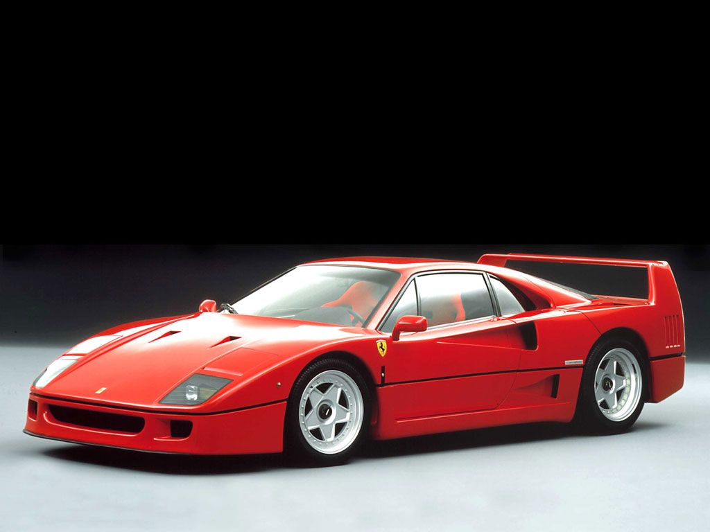 A Regular Pre Cat F40 Only One Colour And Engine Spec For Sunny