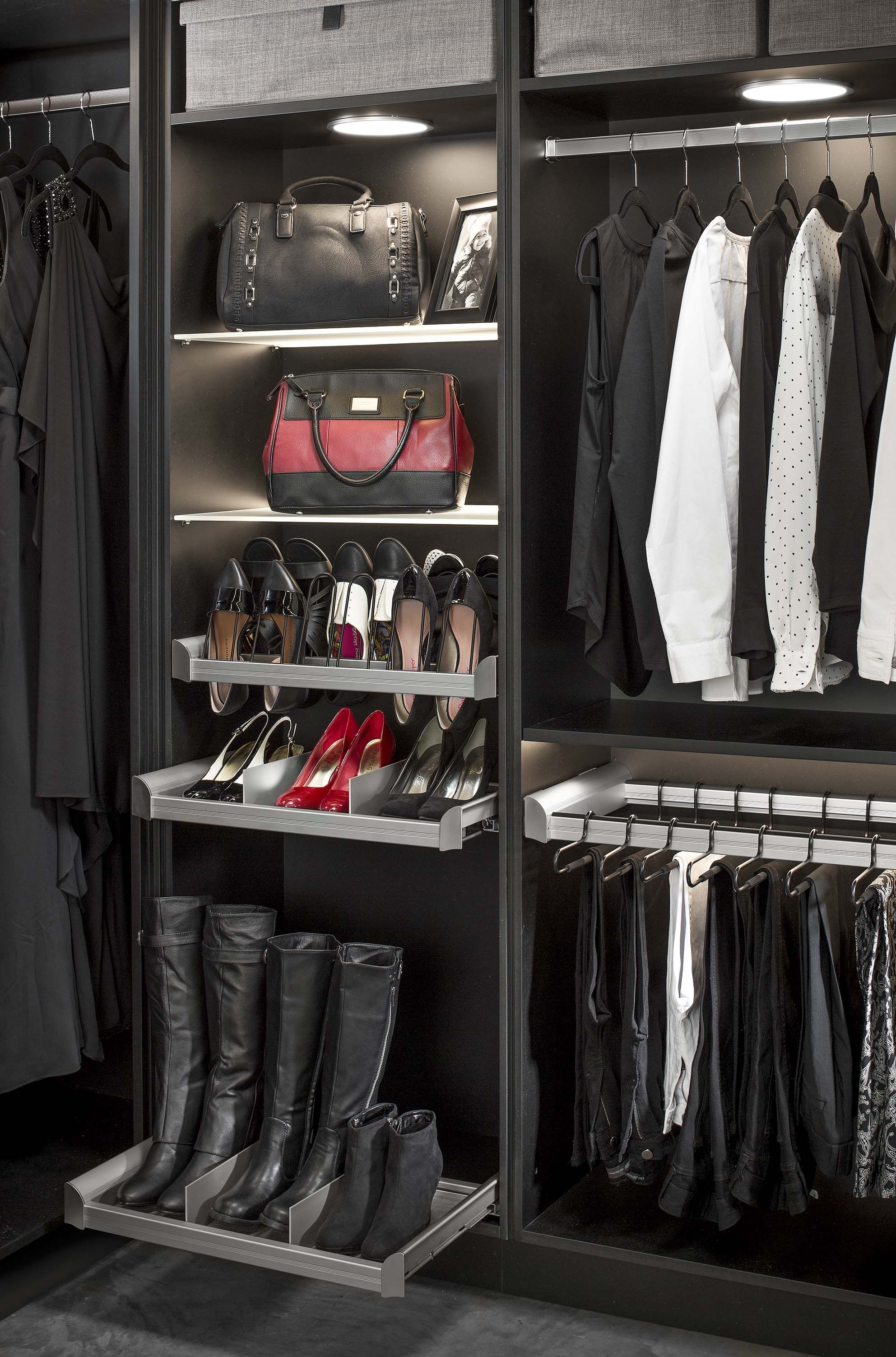 learn 5 nonobvious custom closet design facts to reduce your stress and to start loving your closet shoe organizer organizers