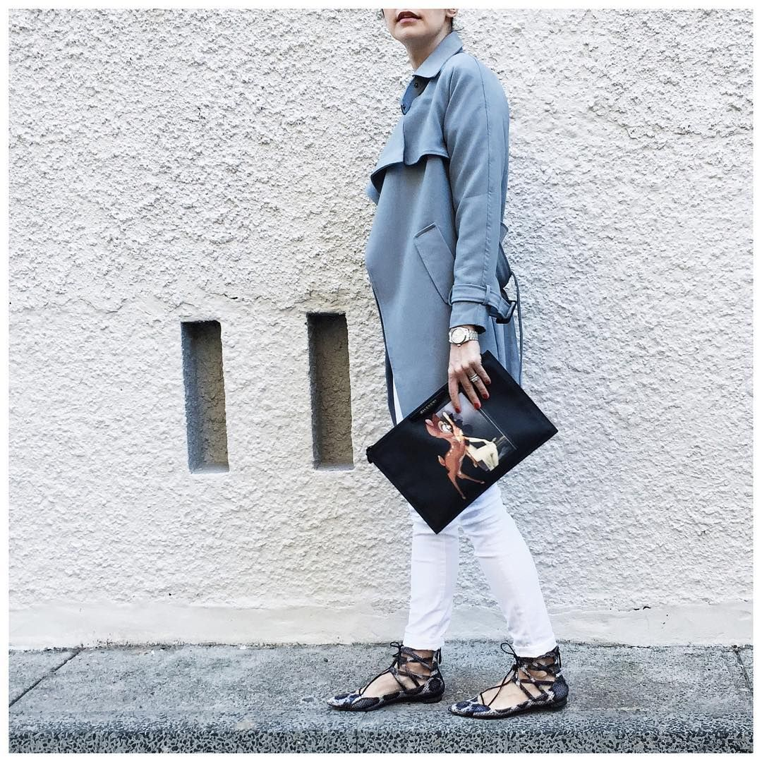 Style by Aggie steps out in her J BRAND best. #InMyJBRAND
