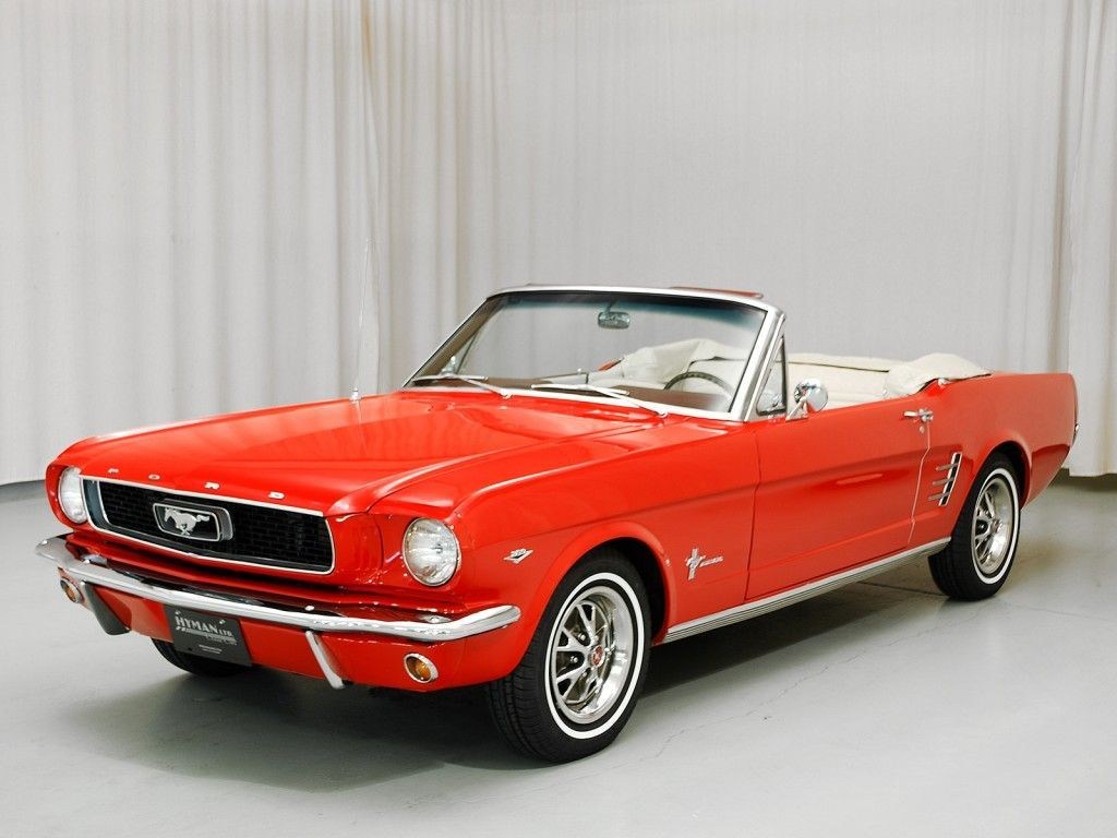 1966 Ford Mustang Convertible | Hyman Ltd. Classic Cars