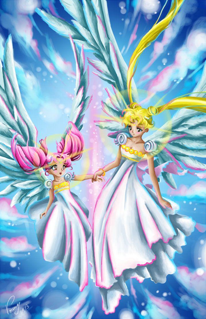 Sailors. Winged Princess by vopoha.deviantart.com on @DeviantArt