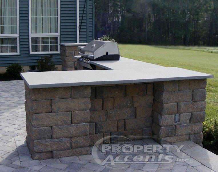 stone patio bar ideas pics - Google Search | Outdoor ...