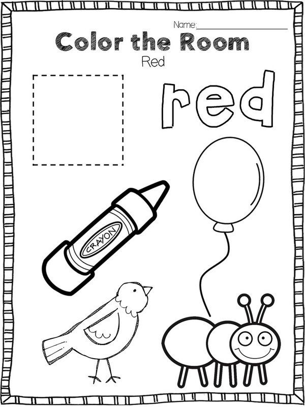 Color the Room (Learning and Teaching with Preschoolers