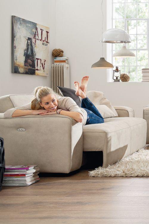 Funktionelle Designkuschler - mit Natura Denver findet jeder seinen - wohnzimmer couch gemutlich