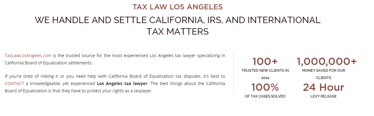 If You Re Looking For A Los Angeles Tax Attorney You Are Most Likely Having Trouble With The Irs Tax Attorney Tax Lawyer Irs
