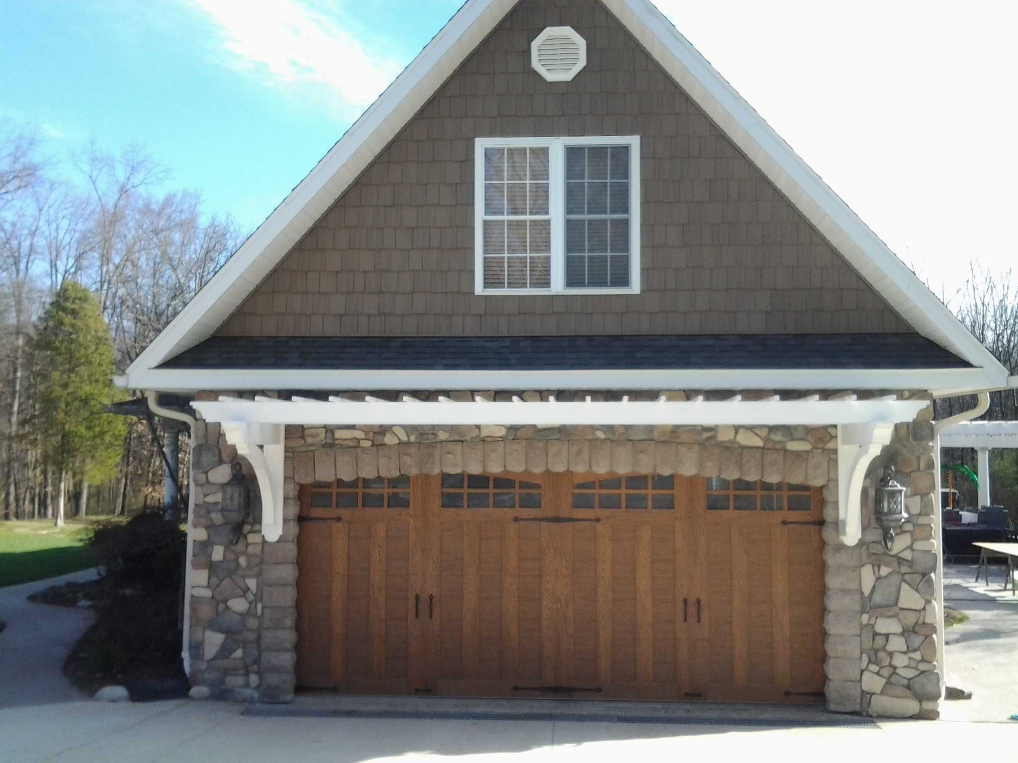 Carriage House Garage Doors Are A Hot Commodity These Days! Luckily For  Weston Lawn Care, Ideal Garage Door Gives A Additional Rebate Back To  Menards ...